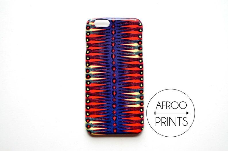 AFROOPRINTS Wax VI African print smartphone shell image 0