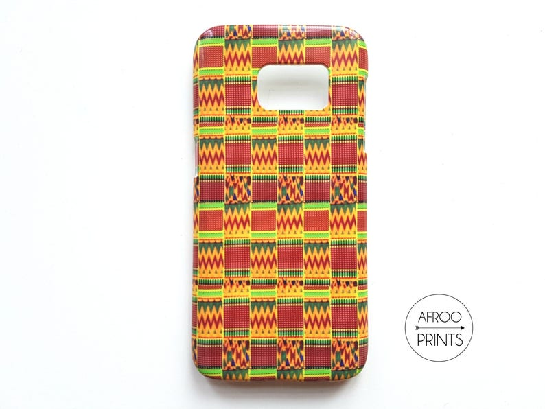 Kente XXXVII African print smartphone shell image 0