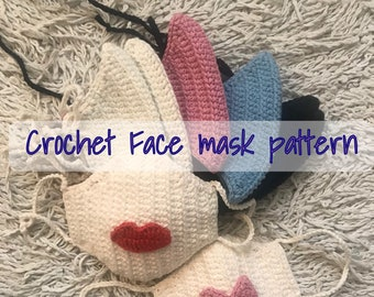 Crochet Pattern for Face Mask