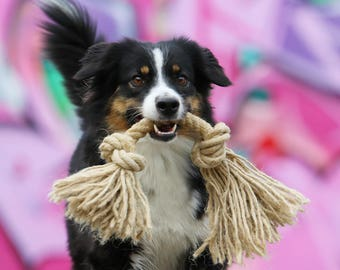 Natural Rope Dog Toys - Organic Pet Toy