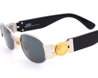 f9489475b9c6d Versace MOD. S70 COL. 015L vintage luxury sunglasses made in Italy 90 s