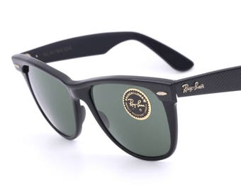 4098d13cd26 Vintage sunglasses B L Ray Ban Wayfarer II   G15 lenses   90 s
