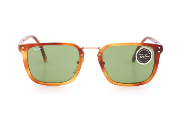 e4026245861d5 switzerland vintage ray ban bl premier e w 0868 classic squared etsy 7b446  c72ac