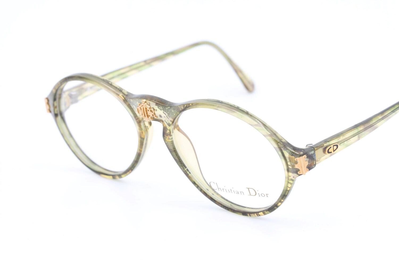 Christian Dior 2635 60 Vintage Brille Rahmen / ovale Brillen /