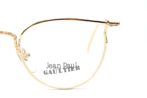 Vintage Jean Paul Gaultier 55 3177 22KGP eyeglasses frames / | Etsy