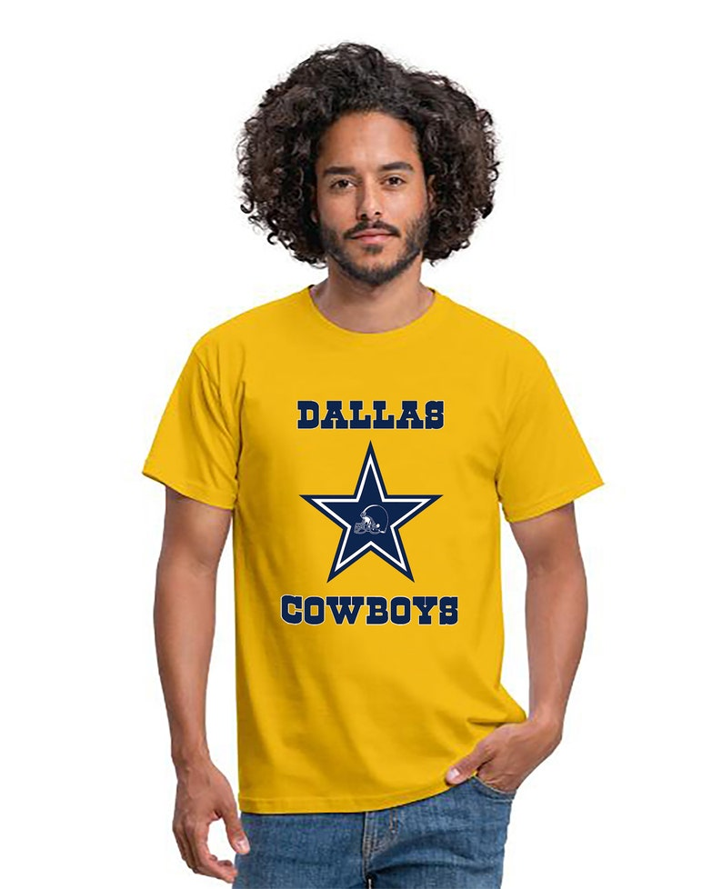 American Football T-Shirt Dallas Cowboys Star Shirt Super image 0