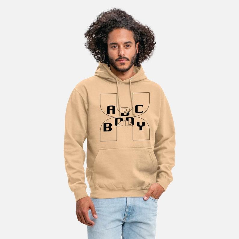 Gym Sport Hoodies Hoody  ABC Body  Wool Sweater Sweatshirts image 0