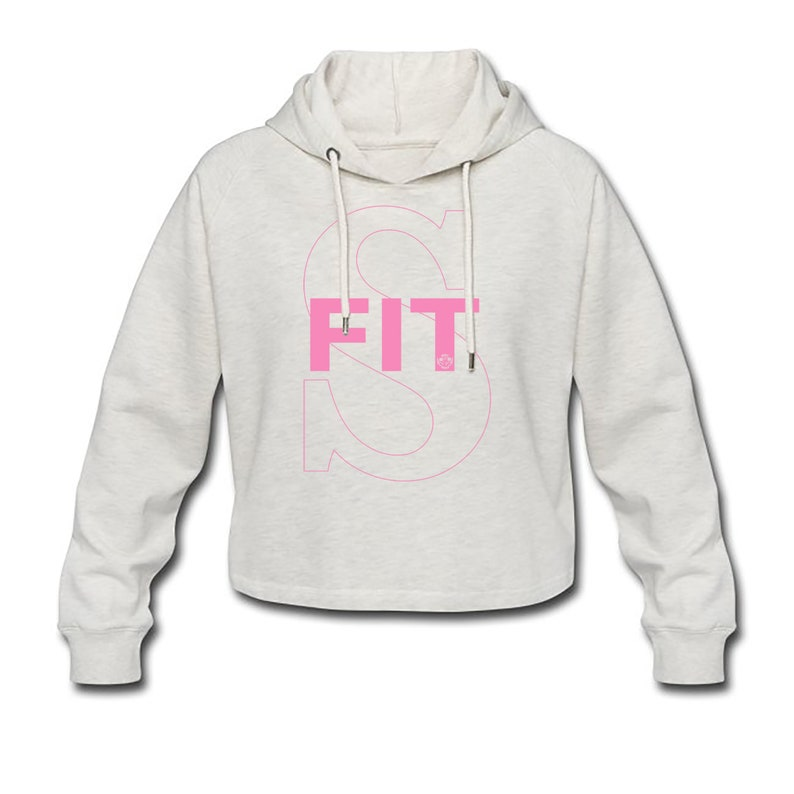 Women Fitness Sport Short Hooded Hoodies Super Fit ABC Body image 0