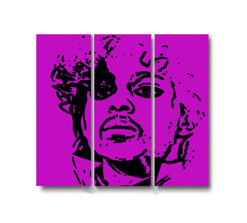 Prince ready mounted oilpainting-acrylic picture on 4 cm thick image 0