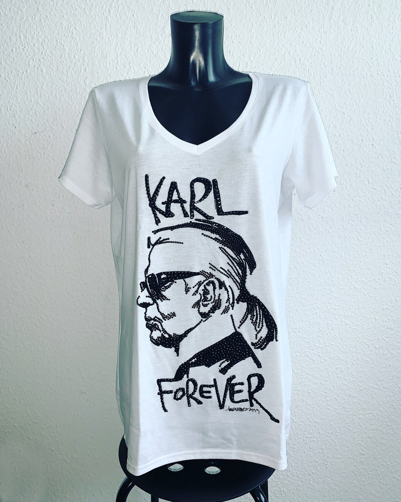 One Piece Women T-Shirt  Karl Forever  is upgraded with image 0