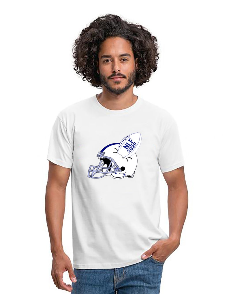 American Football T-Shirt American Football Ball Super Bowl image 0