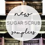 SUGAR SCRUB SAMPLE | 2 oz sampler Sugar Scrub | Travel Size | Sugar Scrub | Whipped Sugar Scrub | Exfoliating Sugar Scrub