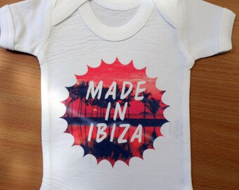 Baby MADE IN IBIZA Vest / Body Suit / Play Suit - Ibiza Baby