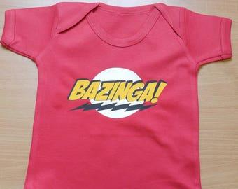 Bazinga! Vest / Body Suit / Play Suit
