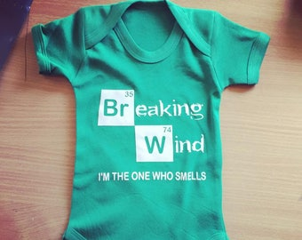 Breaking Wind, I am the one who smells Vest / Body Suit / Play Suit
