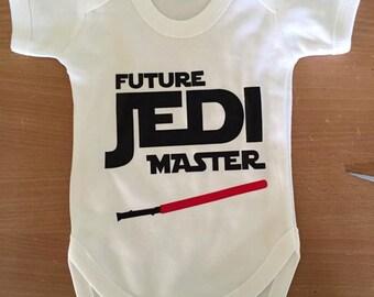 Baby Jedi Master Vest / Body Suit / Play Suit