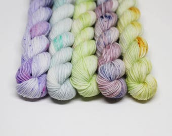English Country Garden - Mini Skein Set - Superwash Merino, Nylon