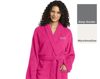 Personalized Robe Plush Microfleece with Your Name Personalized Gift d6227a7e3