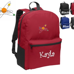 Perfect Kids School Sports Gift Personalized Kids Kindergarten Backpack Embroidered Cutie Design Funny Backpack Monogrammed Name