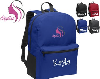 Don/'t Get Snippy Personalized Back Pack Embroidered