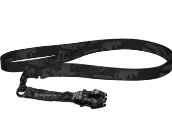 4.5-ft Adjustable Swivel Mil-Spec Tactical FROG Leash handmade by Rogue K9