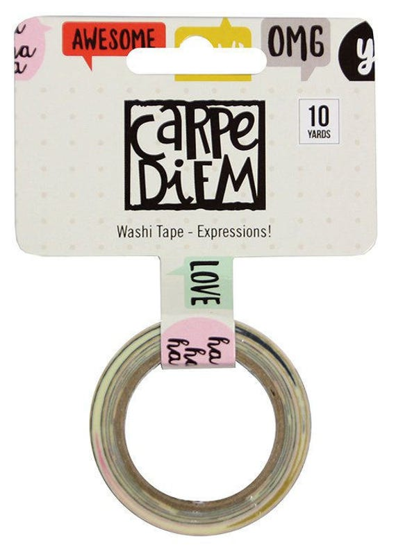 Carpe Diem Grace Washi Tape CLEARANCE!!! Simple Stories