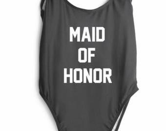 Custom maid if honor swimsuit