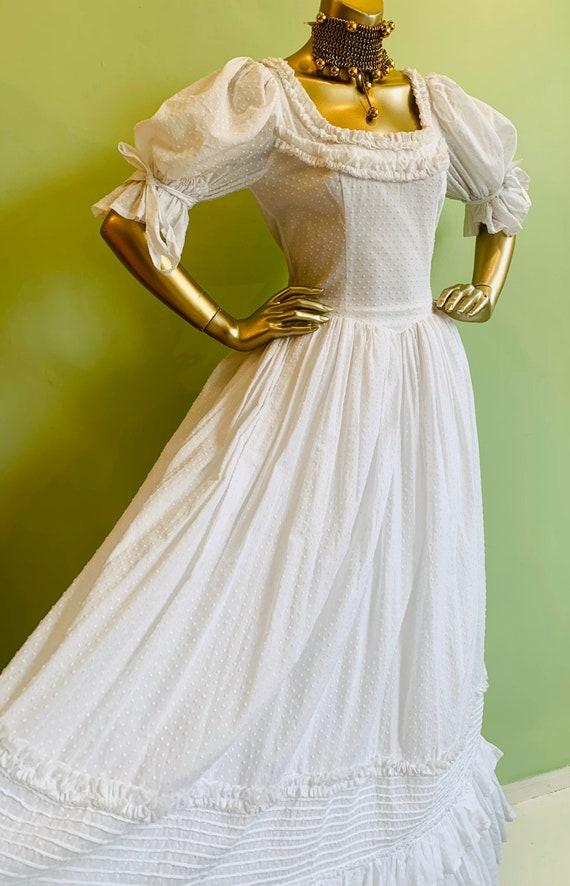Vintage Laura Ashley Wedding.