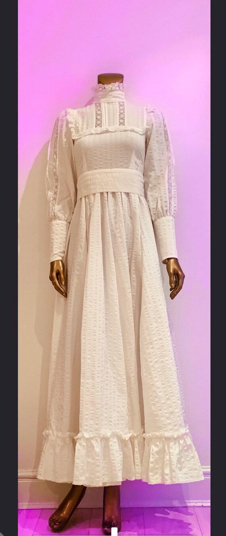 Laura Ashley wedding dress