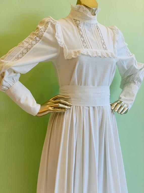 Laura Ashley prairie dress