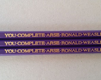 Harry Potter Pencils You Complete Arse Ronald Weasley Gift for Mother's Day