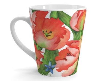 Parrot Tulip Latte mug