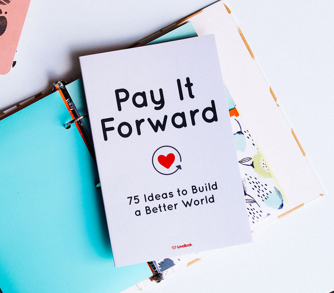 pay it forward 75 ideas to build a better world full of etsy. Black Bedroom Furniture Sets. Home Design Ideas