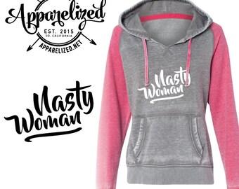 Nast Woman Hoodie - Hooded Sweatshirt - Hillary