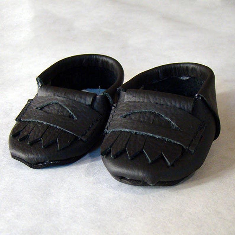 b12c1adb815 Loafers in Black Brown or Gray Doll Accessories for
