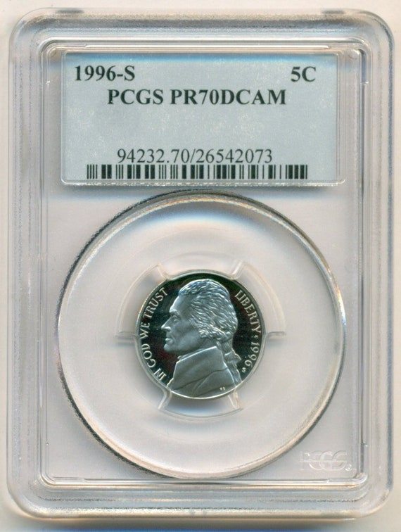 1996-S Roosevelt Dime Proof Deep Cameo coin
