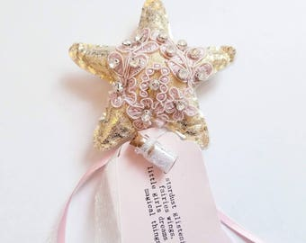 "The ""Adaline"" Fairy Wand"
