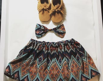 Matching skirt and headband set