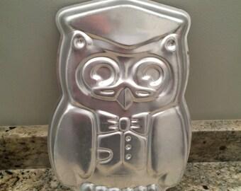 Owl cake pan Etsy