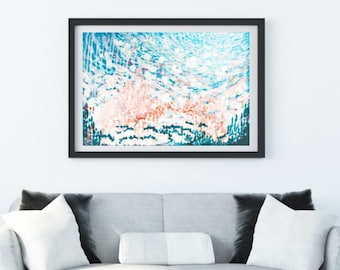 "Original Abstract Acrylic Painting | ""Sea Monkey"""