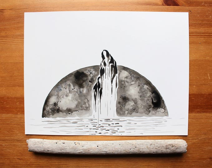 "Limited Edition Giclee Print | ""Lunar Aliens"""