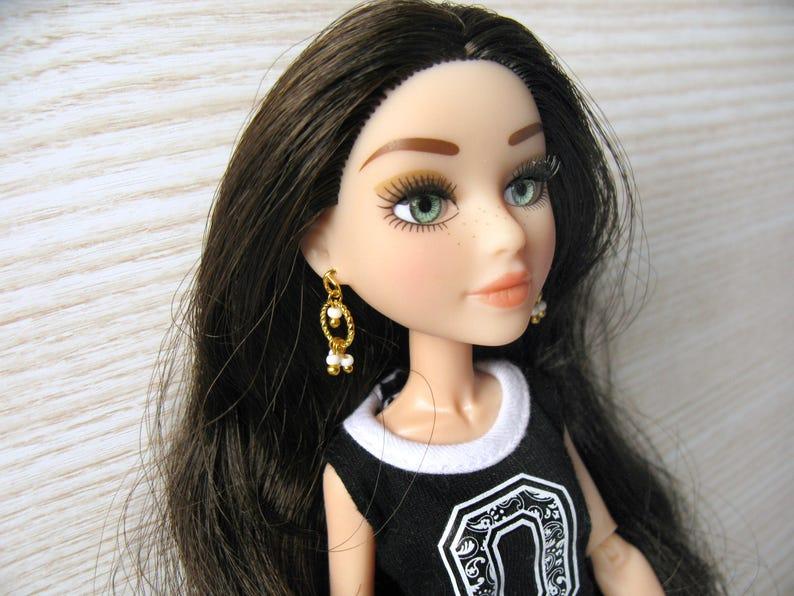 5f638344c Doll clothing jewelry earrings Little Lady 1 6 bjd