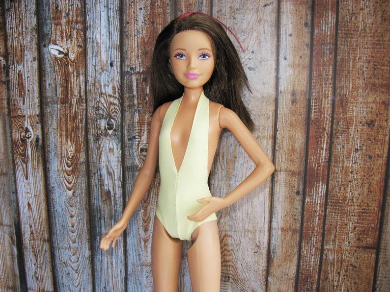 70add919e Doll clothing monokini swimsuite 1 6 bjd obitsu azone NuFace 2