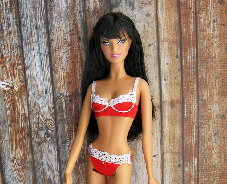 de3bafd6c Doll clothing lace lingerie set bra thong panties 1 6 bjd