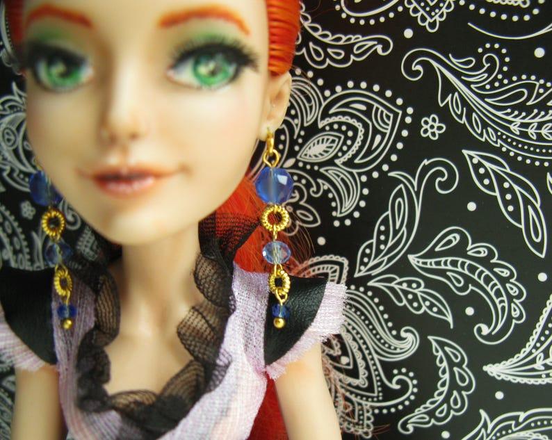 e5ea297b7 Doll clothing jewelry earrings Ocean Breeze 1 6