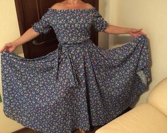 """Summer dress """"Summer evening"""""""