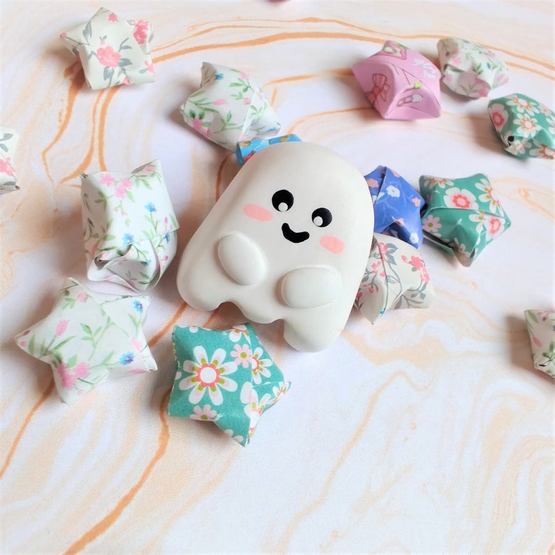 Ghostie Clay Pin