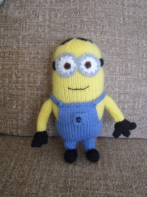 Minion Knitting Pattern Etsy