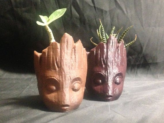 Groot Head Pot Planter Next day Shipping