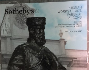 Sotheby's Russian works of Art Faberge & Icons